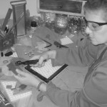 Sharon-Ritz-at-work...-mosaics-BW-150x150